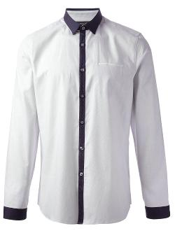 Paul Smith  - Contrasting Placket Shirt