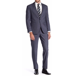 Kenneth Cole New York - Woven Two Button Notch Lapel Slim Fit Suit