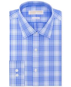 Michael Michael Kors - Non-Iron Check Dress Shirt