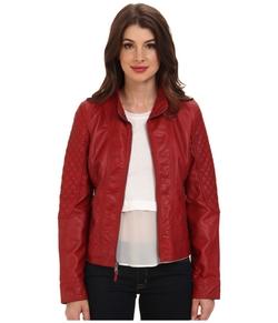 Jessica Simpson - Faux Leahter Jacket
