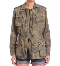 Free People - Camouflage Jacket