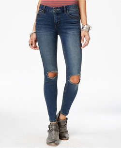 Free People - Ripped Skinny Jeans