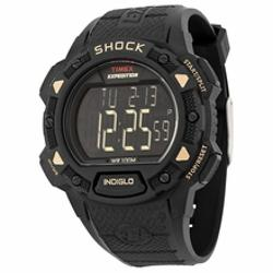 Timex  - Expedition Shock Digital Black Resin Mens Watch