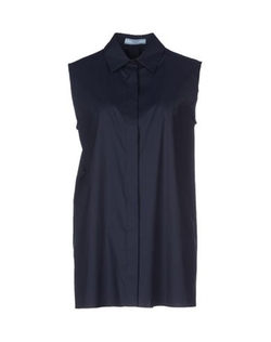 Prada - Sleeveless Button Down Shirt