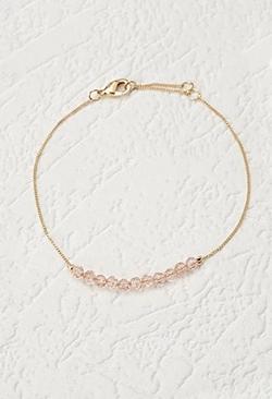 Forever 21 - Faceted Bead Bracelet