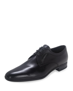 Prada - Leather Lace-Up Oxford Shoes