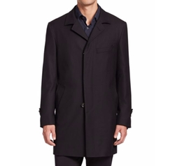 Saks Fifth Avenue Collection  - Essential Wool Coat