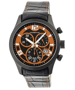 Morphic  - Chronograph Leather Band Watch