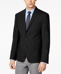 Ryan Seacrest Distinction - Solid Slim Fit 2-Button Blazer
