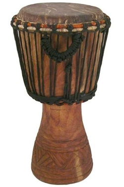 Africa Heartwood Project - Hand-Carved Classical Heartwood Djembe Drum