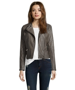 RD Style - Asymmetrical Zip Front Jacket