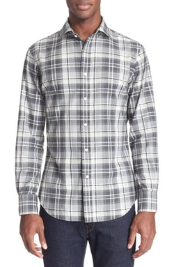 Polo Ralph Lauren  - Slim Fit Plaid Twill Sport Shirt