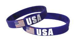 Underground Kulture - America USA Silicone Wristband