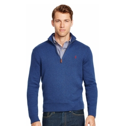 Polo Ralph Lauren - Half-Zip Mockneck Sweater