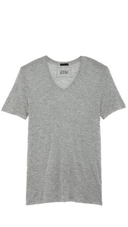 ATM By Anthony Thomas Melillo  - V-Neck Modal T-Shirt