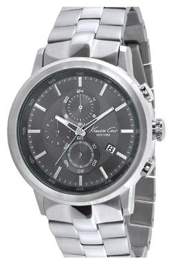 Kenneth Cole New York  - Round Chronograph Bracelet Watch