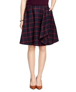 Brooks Brothers - Windowpane Skirt