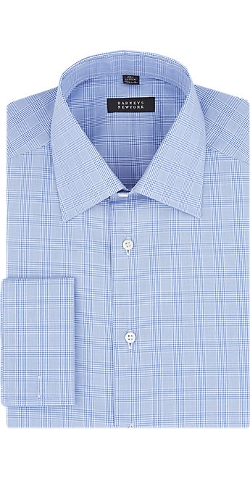Barneys New York  - Glen Plaid Shirt