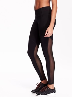 Old Navy - Mesh-Panel Compression Leggings