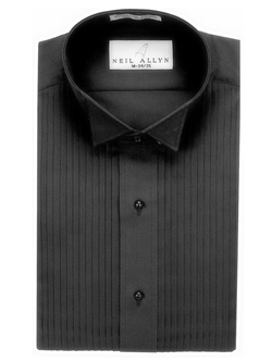 Neil Allyn - Pleats Tuxedo Shirt