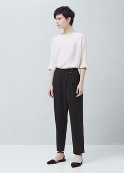 Mango - Buckle Suit Trousers
