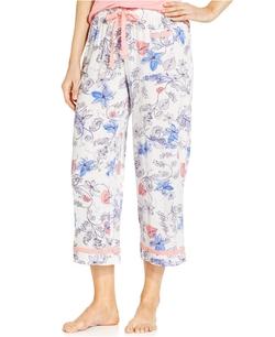 Alfani - Woven Cropped Pajama Pants