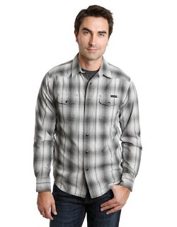 Lucky Brand - Kingman Plaid Western Sport Shirt