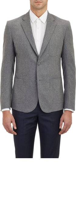 Band of Outsiders - Flannel Schoolboy Blazer
