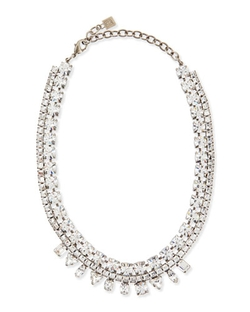 Dannijo - Grant Crystal Bib Necklace