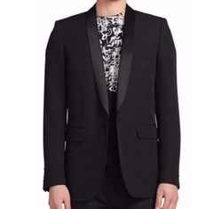 Saint Laurent  - Shawl-Collar Wool Blazer