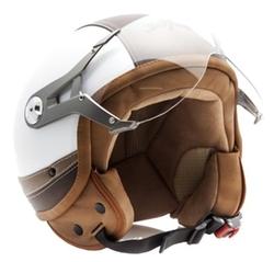SOXON - Jet Vespa Scooter Motorcycle Moto Helmet Pilot Leather Urban
