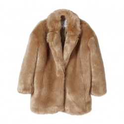 Little Remix - Imitation Fur Coat