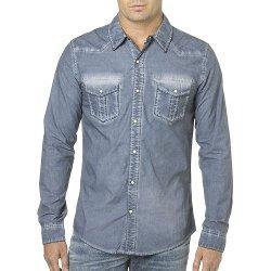 Silver Jeans - Chambray Button-Down Shirt
