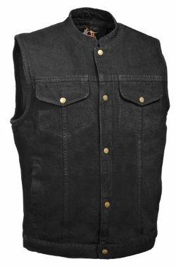 Bikers Edge - Denim Club Style Vest