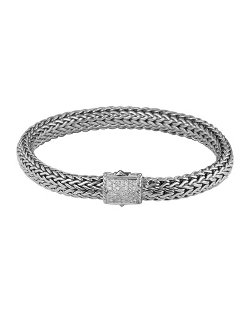 John Hardy	  - Diamond Pave Medium Chain Bracelet