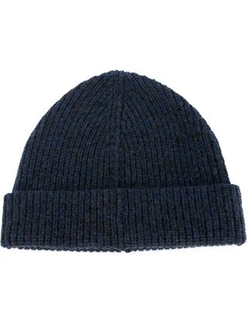 Lanvin   - Turned-Up Ribbed Beanie
