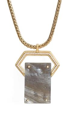Rachel Zoe - Jewel RivetPendant Necklace