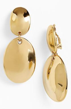 Simon Sebbag  - Safari Double Drop Clip Earrings