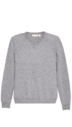 Inhabit  - Cashmere V Neck Sweater