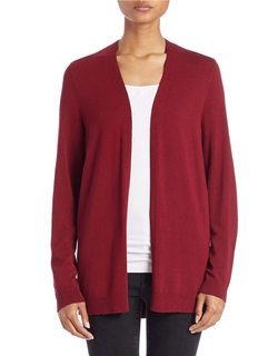 Lord & Taylor - Open-Front Cardigan