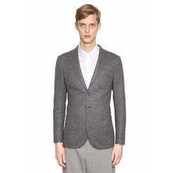 Giorgio Armani   - Tokyo Textured Fulled Wool Blazer