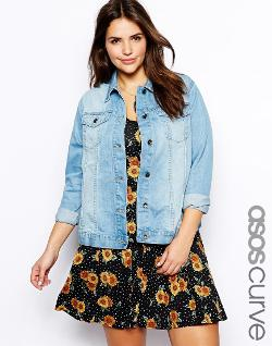 ASOS Curve - Exclusive Denim Jacket