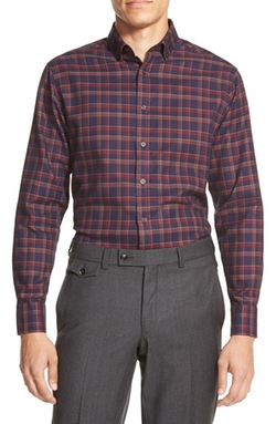 Vince Camuto - Slim Fit Button Down Collar Sport Shirt