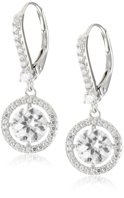 Myia Passiello - Swarovski Zirconia Dangle Earrings
