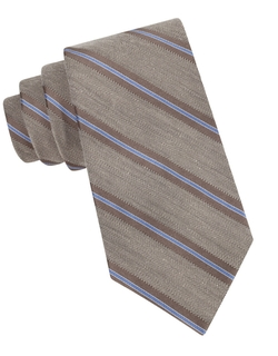 Dkny - Diagonal Striped Tie