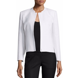 Lafayette 148 New York - Marcy Zip-Front Short Jacket