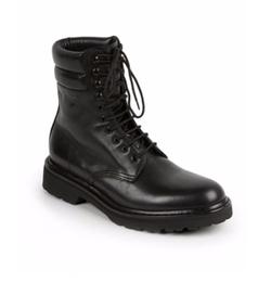 Saint Laurent  - Trekker 25 Leather Lace-Up Boots