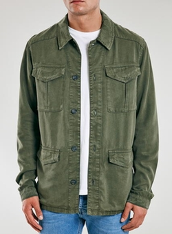 Topman - Khaki Field Jacket