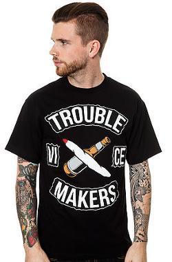 TRBLMKRS - Vice Tee in Black