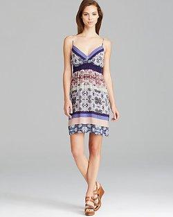 Aqua Dress - Malaysian Stripe